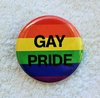 Regenbogen-Button GAY PRIDE