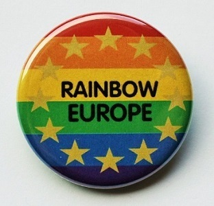 Rainbow Europe Button M